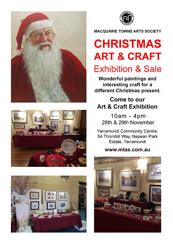 mtas christmas art craft exhibition